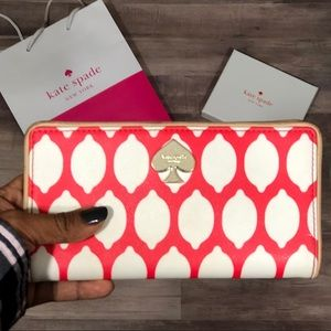 Kate Spade lemon wallet